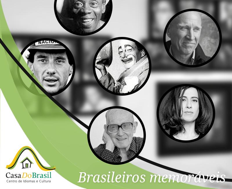 "Casa do Brasil presenta su Ciclo Cultural: ""BRASILEIROS MEMORÁVEIS"""