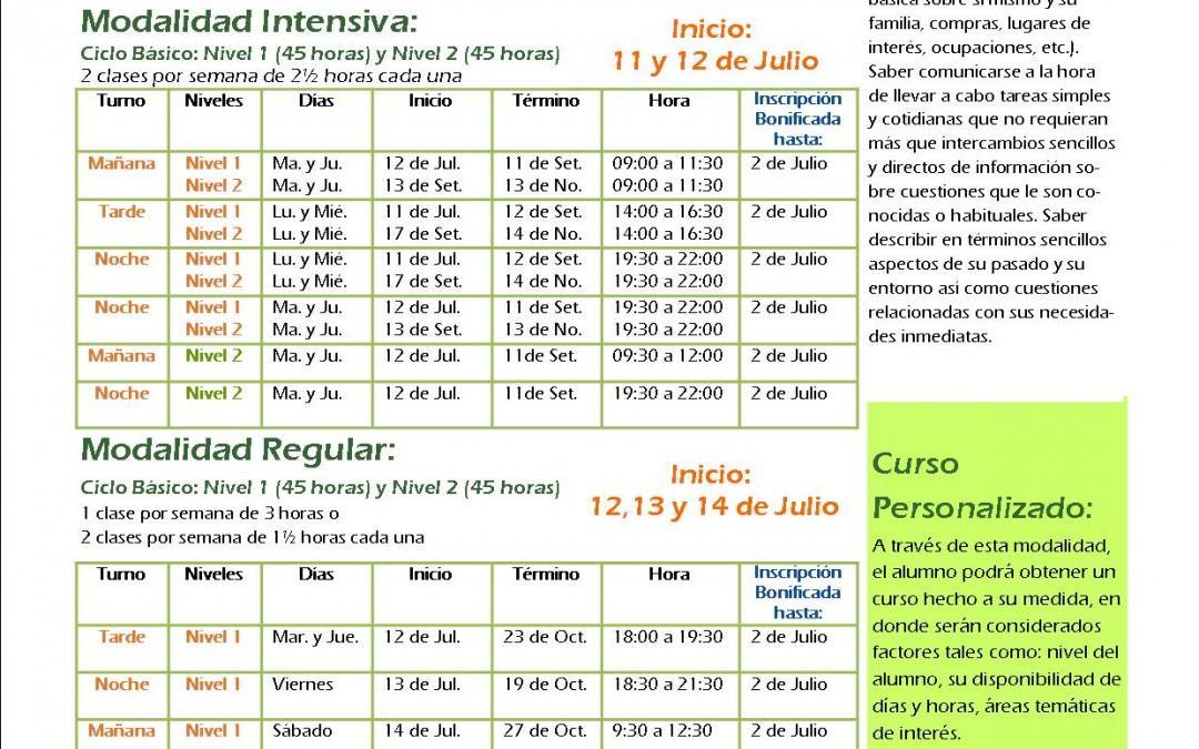 En este segundo semestre empezá tu curso de portugués¡No te quedes afuera!