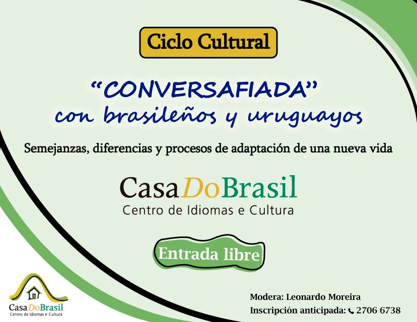 «Conversafiada» con brasileños y uruguayos