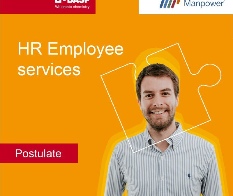 Manpower busca HR Employee services